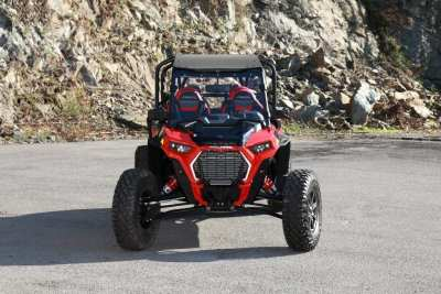 red Polaris Ranger UTV