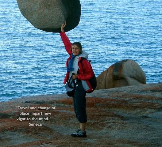 Michela on Solo Trip on Kangaroo Island