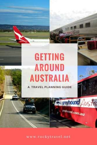 Getting around Australia - A Travel Planning Guide for Australia