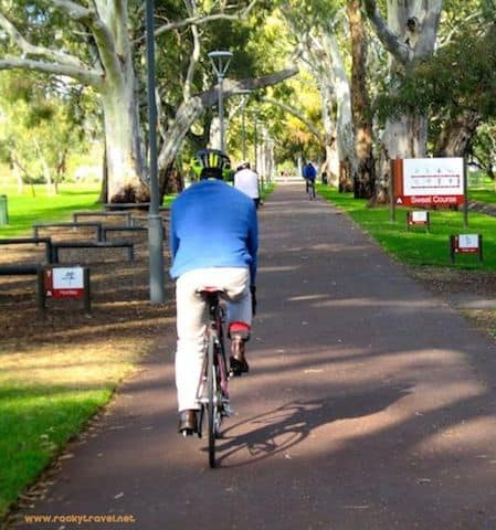Exploring Adelaide Parklands