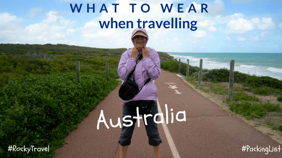 What to wear when travelling in Australia