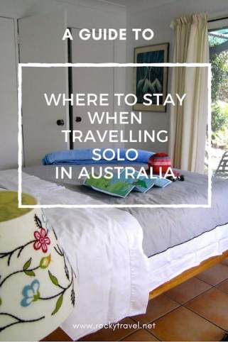 Travelling Solo Australia - Where to Stay