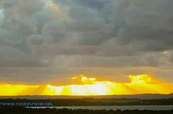 Sunset in Wilson Promontory
