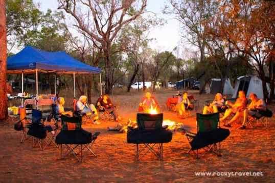 Campfire-Kimberley-Australia