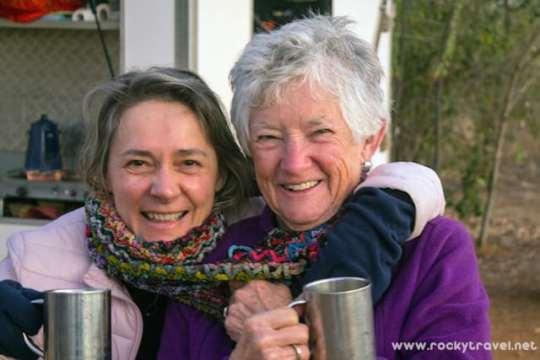 Michela and Dot Kimberley Adventure