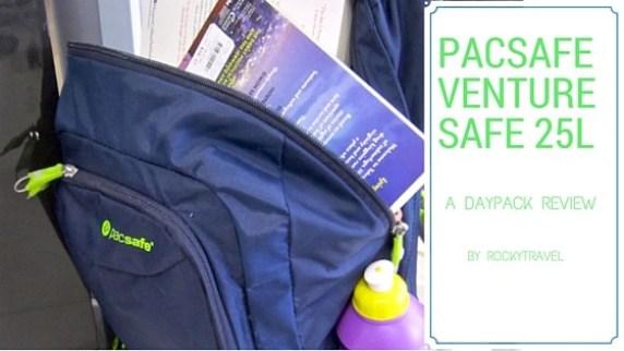 Daypack Review Pacsafe Venturesafe 25l