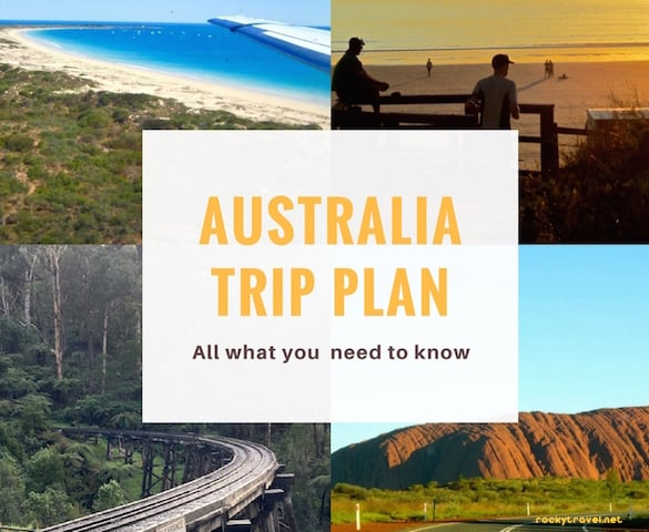 Australia Trip Plan from Rocky Travel Guide