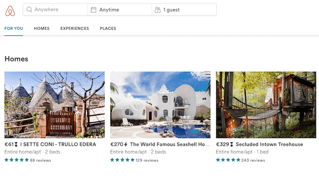 Airbnb Home Apartment Rentals