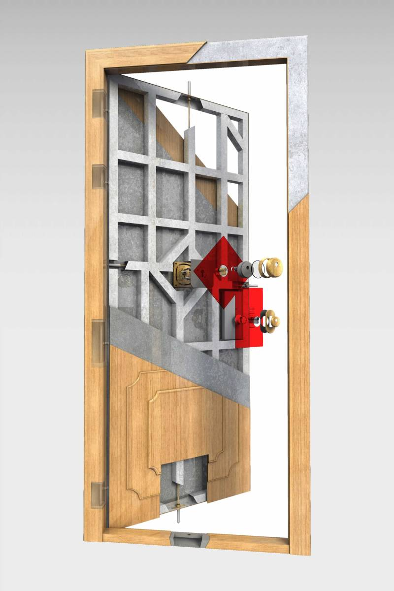 Puerta Acorazada Olimpo Roconsa