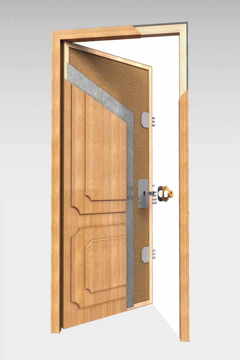 Puerta blindada b 10 roconsa for Puertas blindadas
