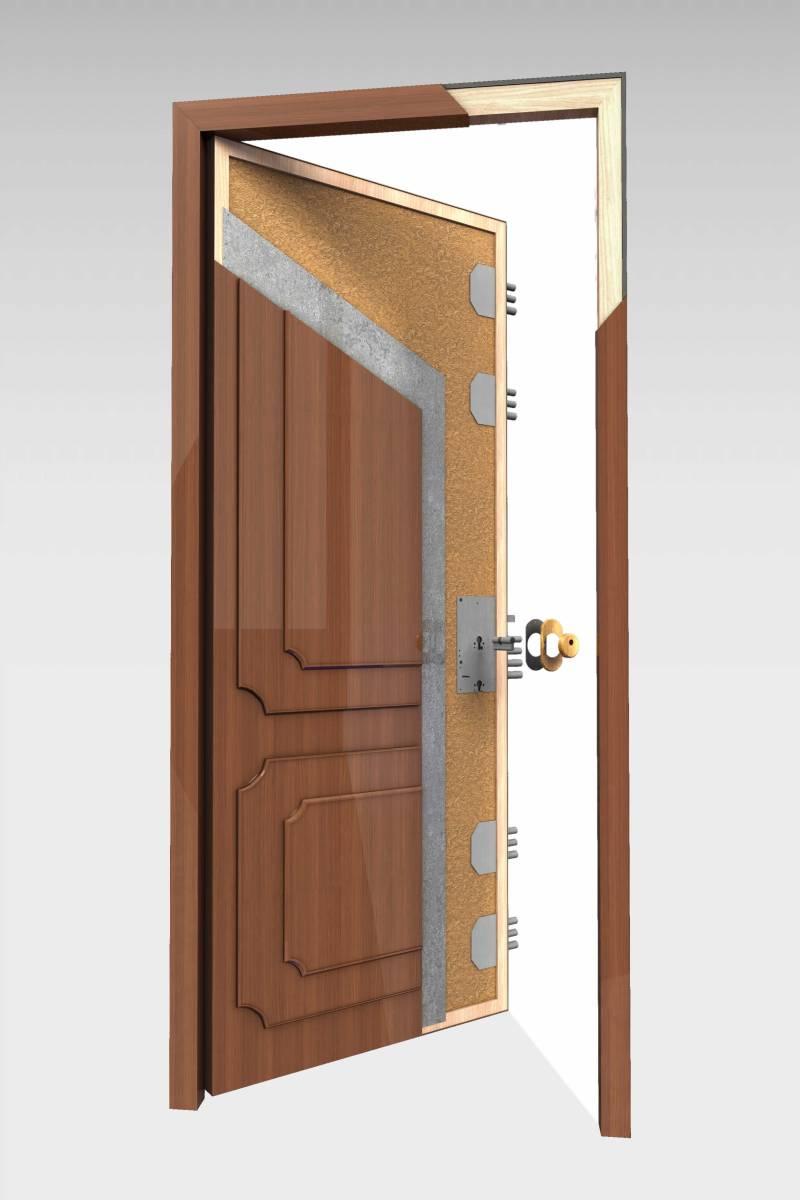 Puerta blindada b 16 roconsa - Puertas blindadas de exterior ...