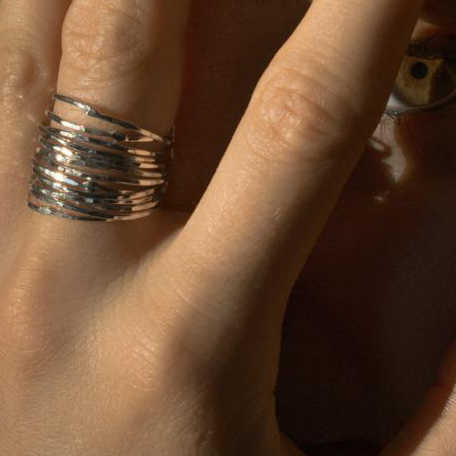 anello-fatta-a-mano-in-Argento-amaryllis