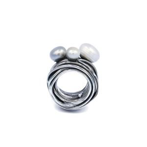 anello-fatta-a-mano-in-Argento-perla-dalia
