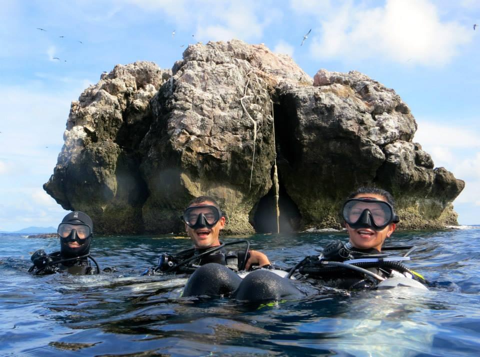 sail rock diving