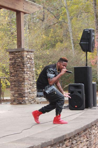 Music artist Canon performing in Atlanta.