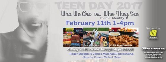 Berean Bible Baptist Church's Teen Day Facebook  cover