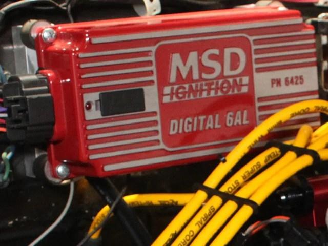 Msd 6a 6al Street Fire Digital Ignition Control Now Carb