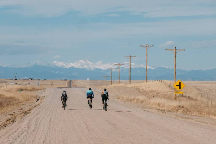 If you ride far enough east the mountains will disappear. It's a singular feeling when you look back where they should be and they are no longer there. Plains vertigo, if there is such a thing. When they reappear it is reassuring. You are almost home.