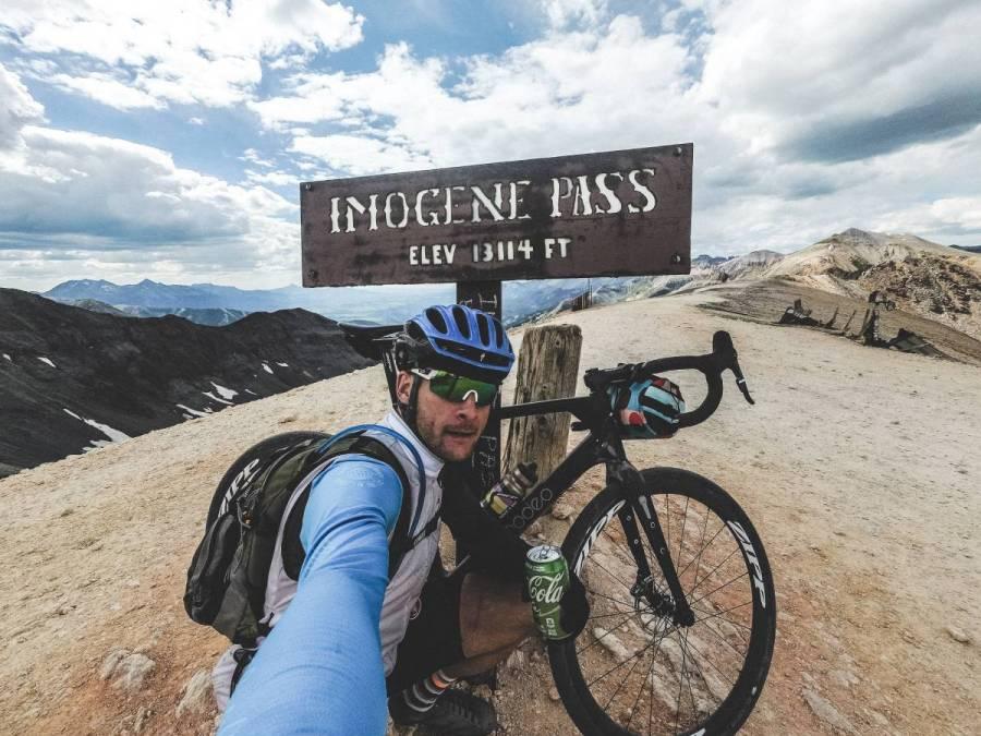 Imogen Pass summit.