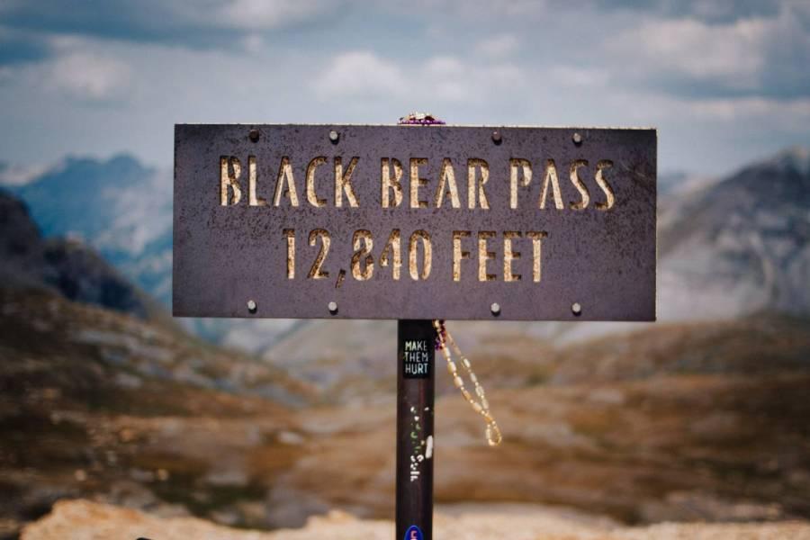 Black Bear Pass. 12,840 Feet