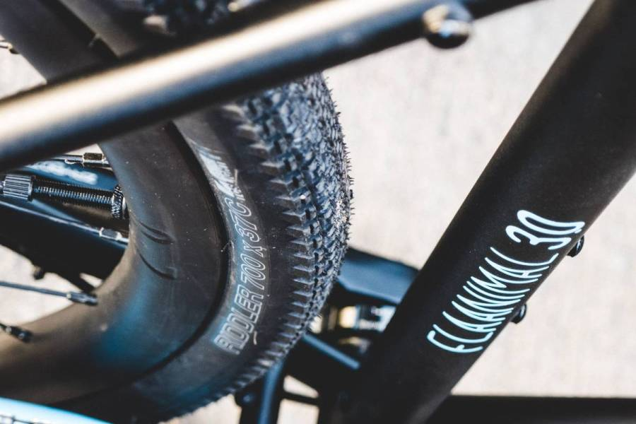 Rodeo Flaanimal 3.0 custom blue gravel adventure bike