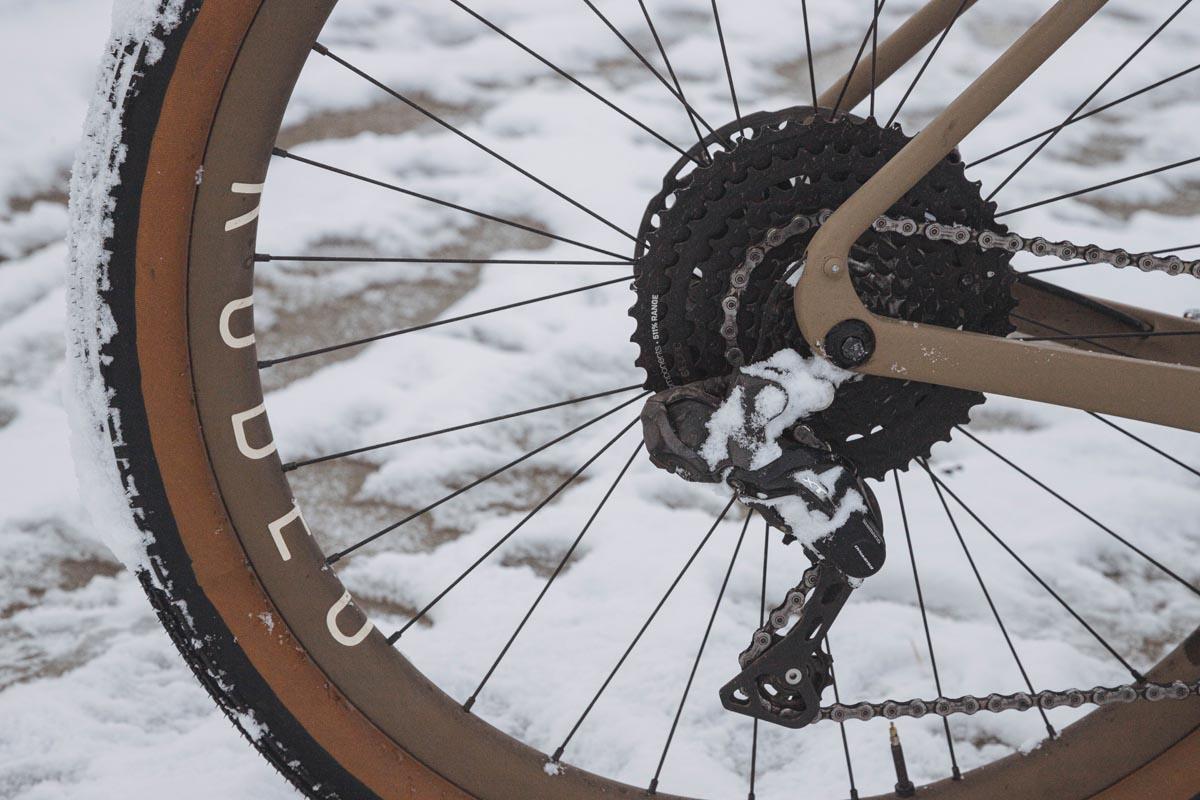 Atlas Mountain Race Traildonkey 3.0 bikepacking setup - Shimano Dynamo hub