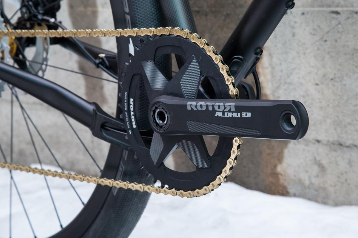 A beautiful, shiny 1 chainring