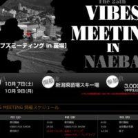 Vibes Meeting 2017 苗場 (スケジュール有)