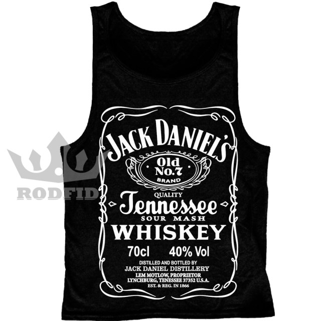 Regata Feminina Jack Daniel s – RODFID Camisetas aa411e72129