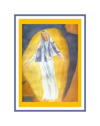 lady of light print