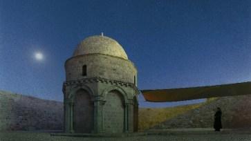 Αποτέλεσμα εικόνας για Το Μοναστήρι της Αναλήψεως στο Όρος των Ελαιών στα Ιεροσόλυμα -