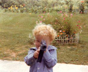 Rodney as a boy