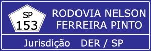 Câmeras Rodovia Nelson Ferreira Pinto SP 153