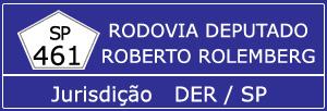 Câmeras Rodovia Deputado Roberto Rolemberg SP 461