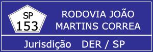 Trânsito Agora na Rodovia João Martins Correa SP 153