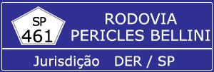Trânsito Agora na Rodovia Pericles Bellini SP 461
