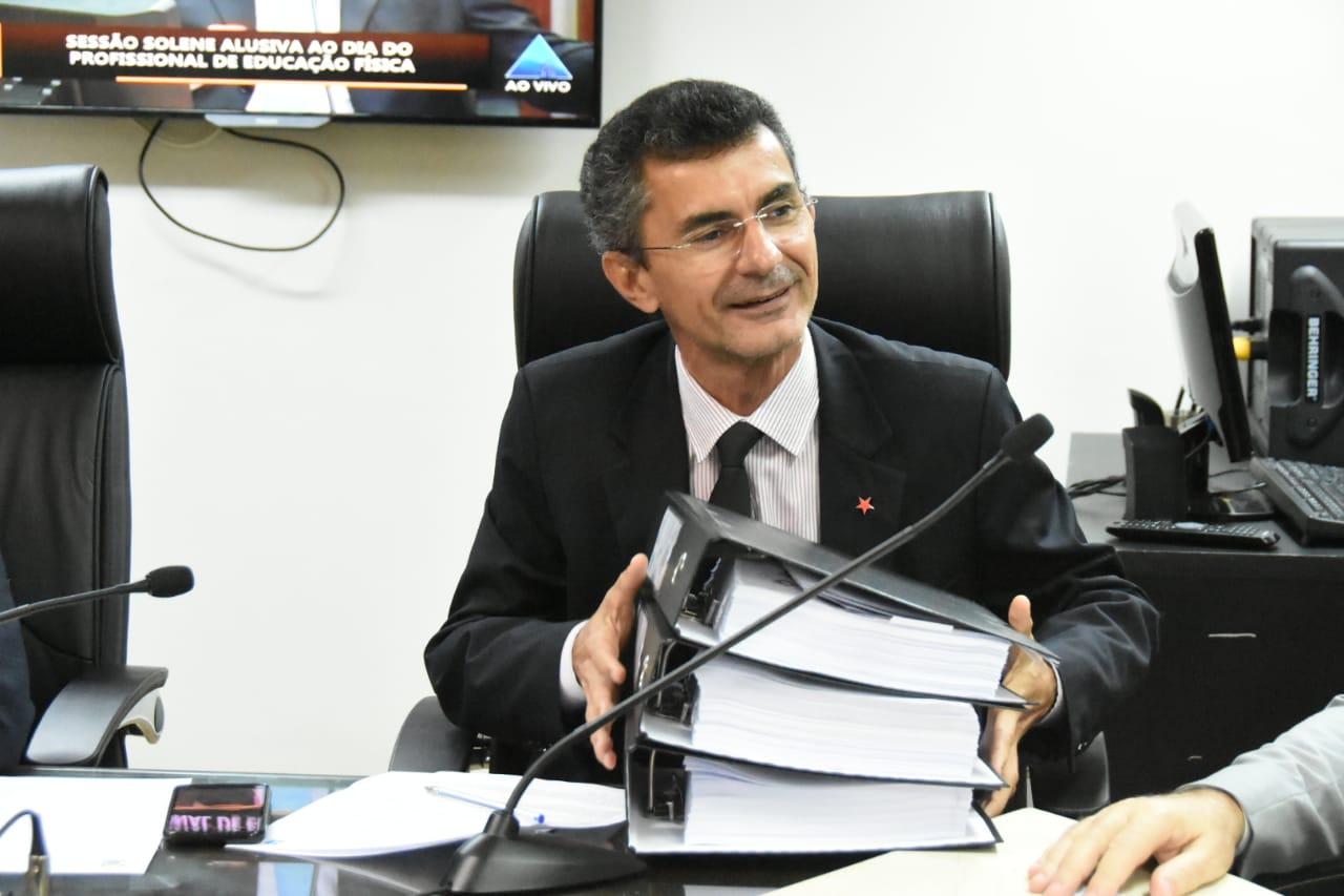 Resultado de imagem para fotos Francisco do PT é escolhido relator do Plano Plurianual 2020-2023