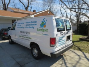 Carpet Cleaning Van With Truck Mount