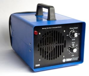Picture of Ozone machine use to clean air in odor enviroment