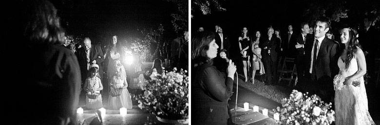 La ceremonia en Finca Madero