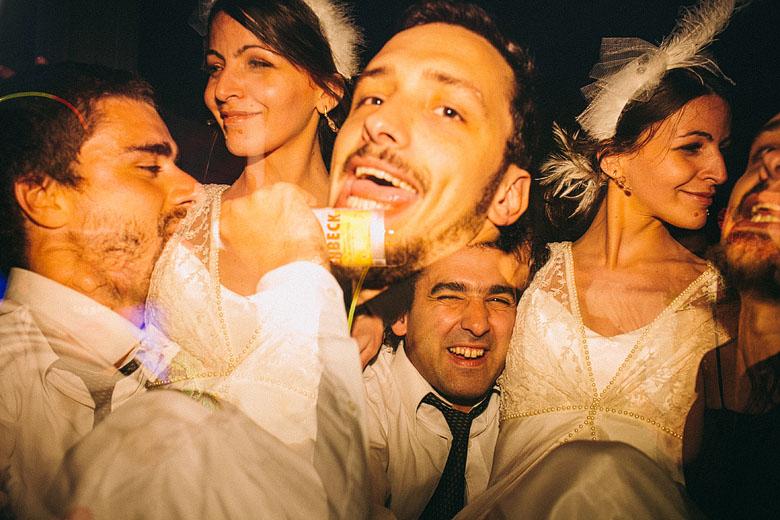 Fotografia creativa de boda