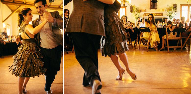 Show de tango casamiento