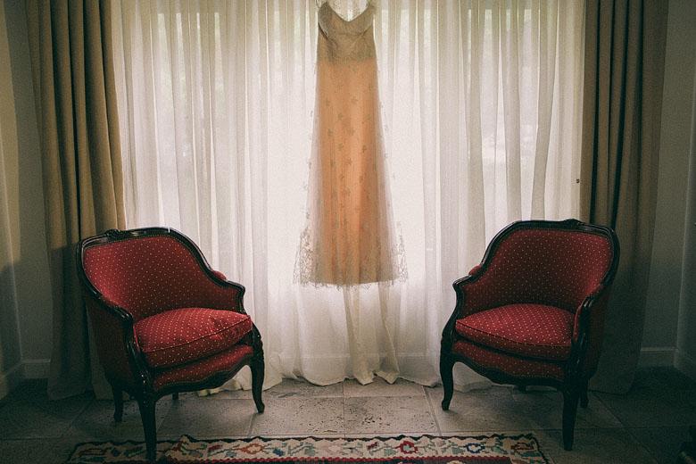 Foto del vestido de novia