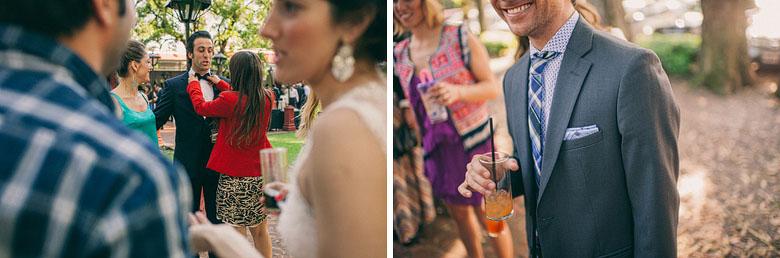 Cocktail de recepcion en Finca Madero