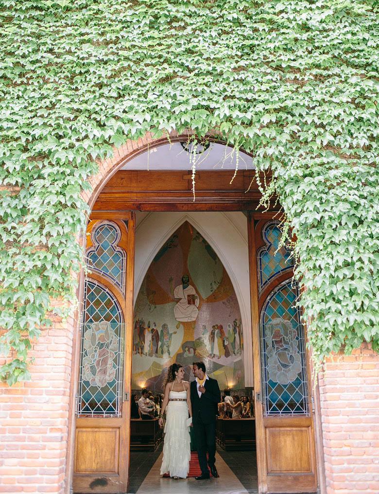 Salida de los novios Parroquia Jesus en el Huerto de los Olivos