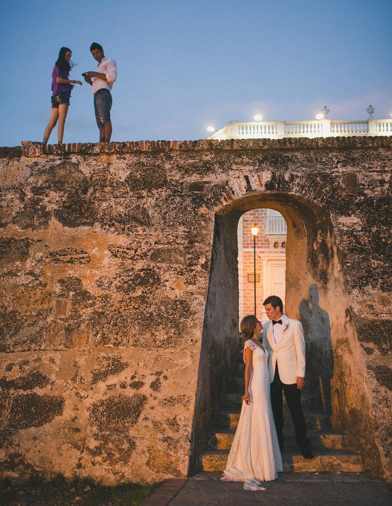 Sesion de boda en Cartagena de Indias, Colombia