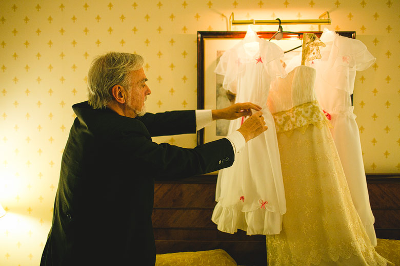 Fotografia documental de casamiento