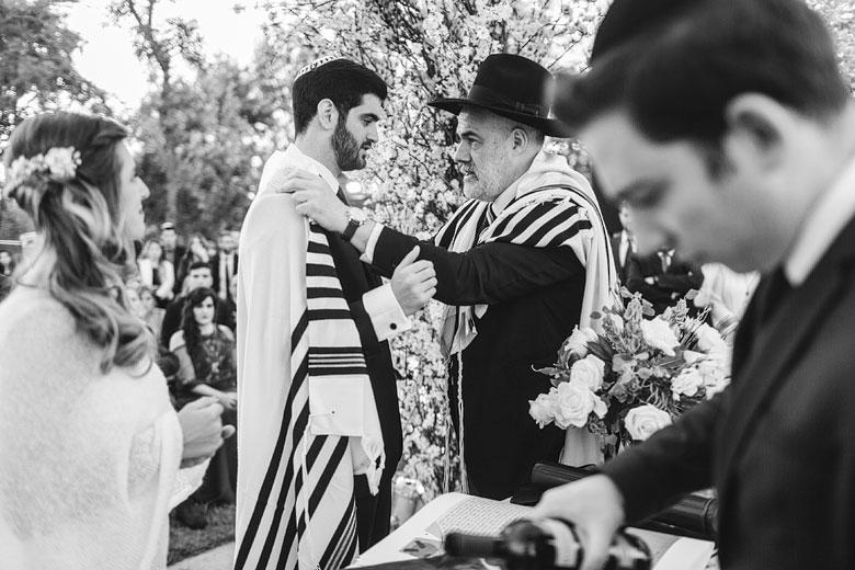 ceremonia judia de casamiento en astilleros milberg