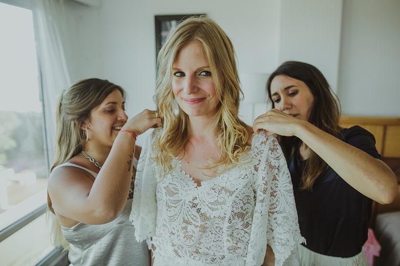vestidos de novia románticos hippie chic