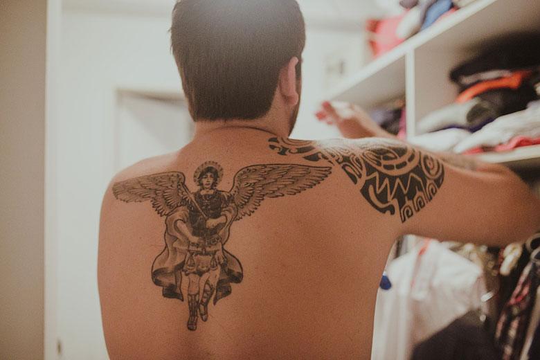 casamiento hipster tatoo